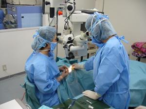白内障の手術